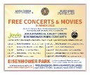 Starting This Saturday: I'm Presenting Free Live Concerts at Eisenhower Park Every Week